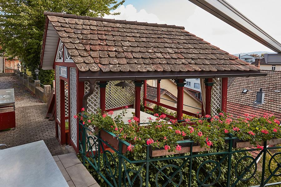 Pergola | Wirtschaft zum Eigenhof, Weinfelden