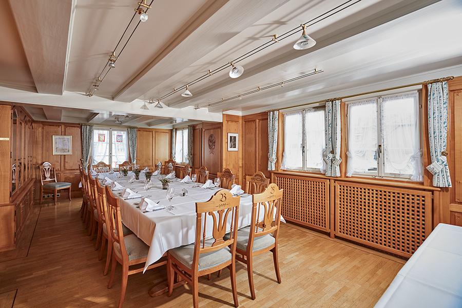 Saal | Wirtschaft zum Eigenhof, Weinfelden