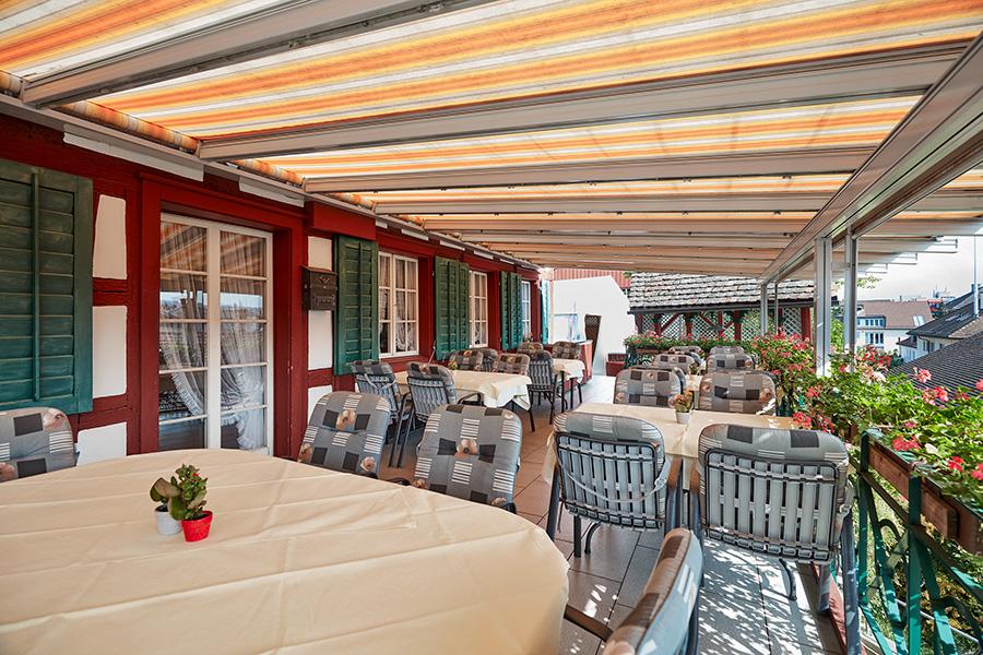 Terrasse | Wirtschaft zum Eigenhof, Weinfelden