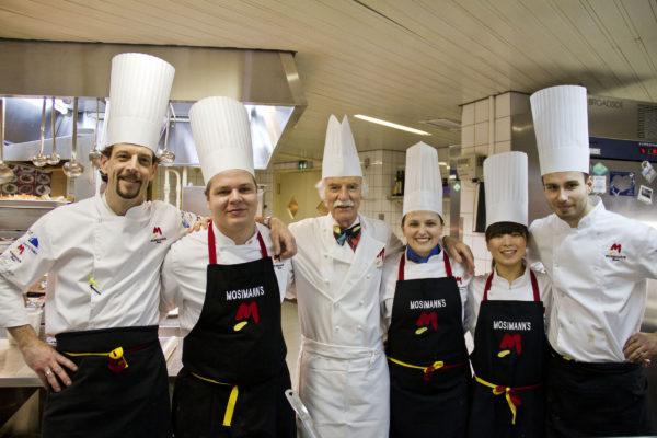 Küchenteam Anton Mosimann